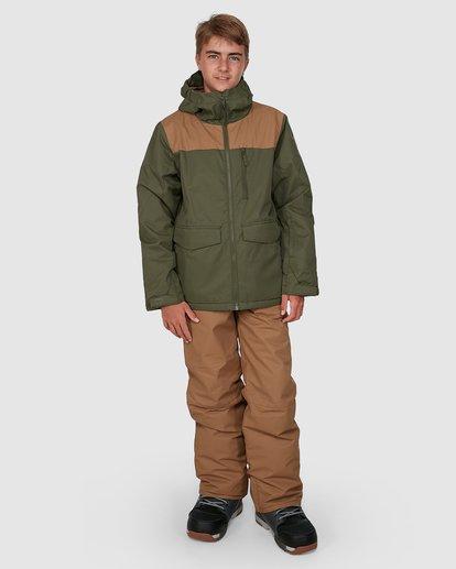 5 Boys 8-16 All Day Jacket Green U6JB21S Billabong
