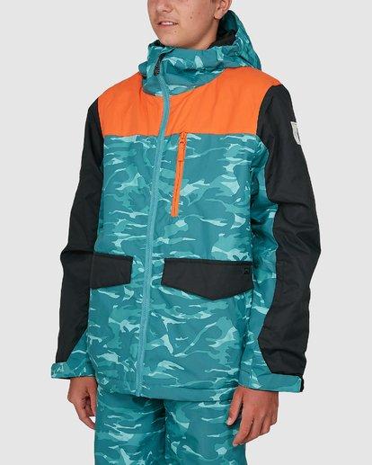 1 Boys 8-16 All Day Jacket Orange U6JB21S Billabong