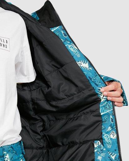 7 All Day Boys Jacket Green U6JB21S Billabong