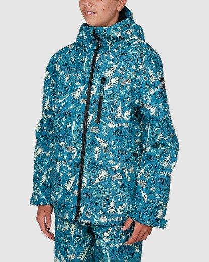 1 All Day Boys Jacket Green U6JB21S Billabong