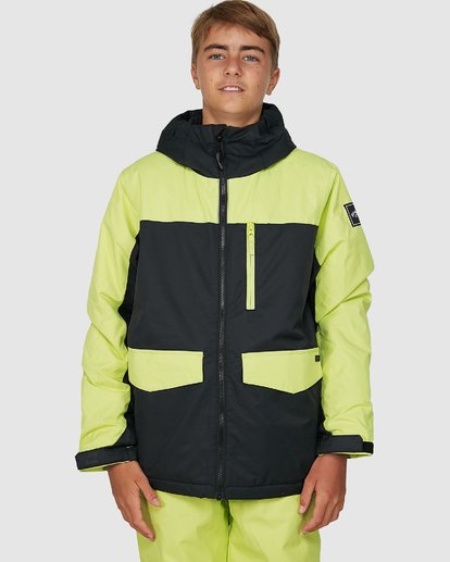 3 All Day Boys Jacket Green U6JB21S Billabong