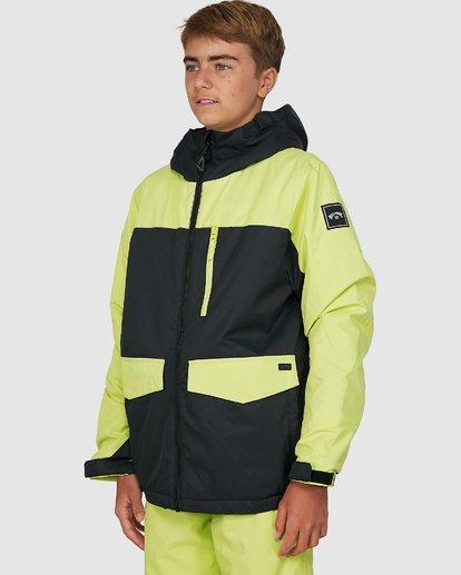 4 All Day Boys Jacket Green U6JB21S Billabong