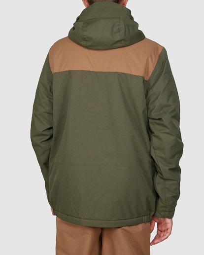 2 All Day Boys Jacket Green U6JB21S Billabong