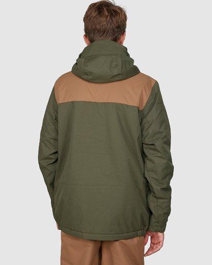 5 All Day Boys Jacket Green U6JB21S Billabong