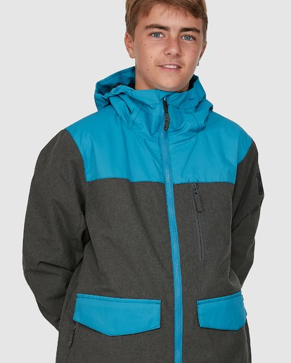6 All Day Boys Jacket Blue U6JB21S Billabong