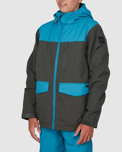 1 All Day Boys Jacket Blue U6JB21S Billabong