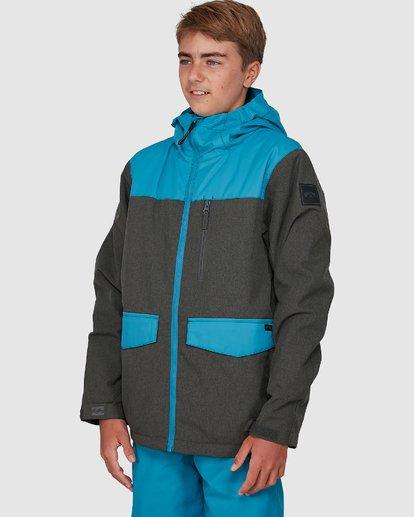 4 All Day Boys Jacket Blue U6JB21S Billabong