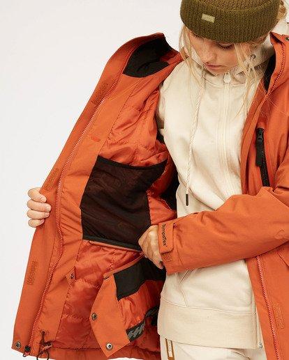 6 Adventure Division Collection Trooper Stx - Wasserdichte Jacke für Frauen  U6JF20BIF0 Billabong