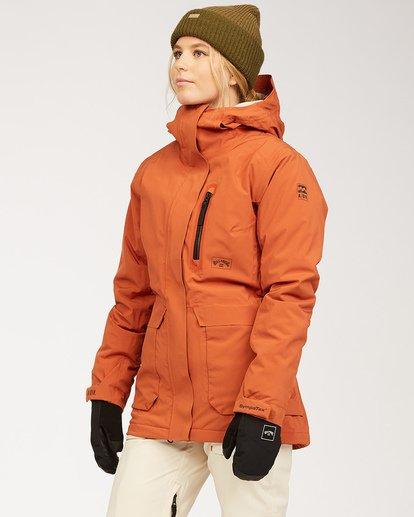3 Adventure Division Collection Trooper Stx - Wasserdichte Jacke für Frauen  U6JF20BIF0 Billabong