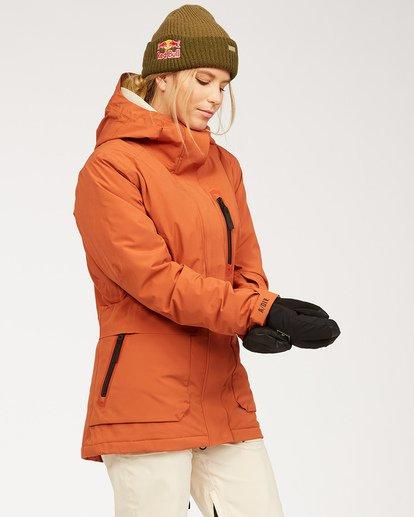 4 Adventure Division Collection Trooper Stx - Wasserdichte Jacke für Frauen  U6JF20BIF0 Billabong