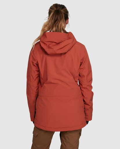 3 Trooper SympaTex Jacket Orange U6JF20S Billabong