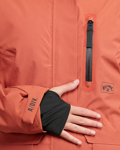 4 Trooper SympaTex Jacket Orange U6JF20S Billabong
