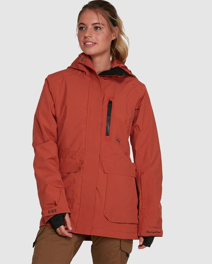 0 Trooper SympaTex Jacket Orange U6JF20S Billabong