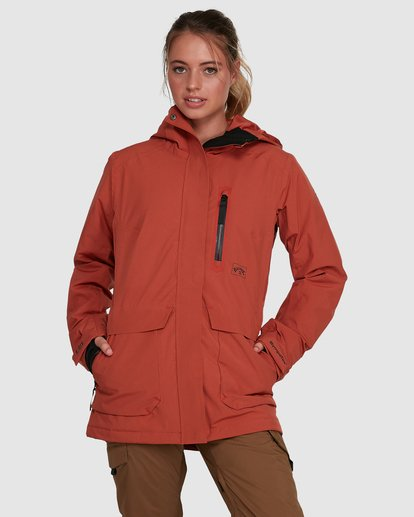 1 Trooper SympaTex Jacket Orange U6JF20S Billabong