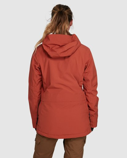 9 Trooper SympaTex Jacket Orange U6JF20S Billabong