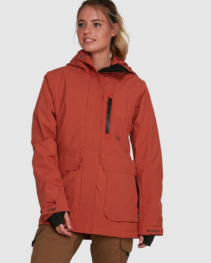 6 Trooper SympaTex Jacket Orange U6JF20S Billabong
