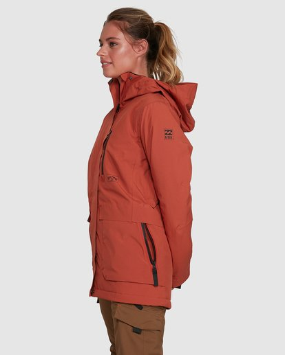 8 Trooper SympaTex Jacket Orange U6JF20S Billabong