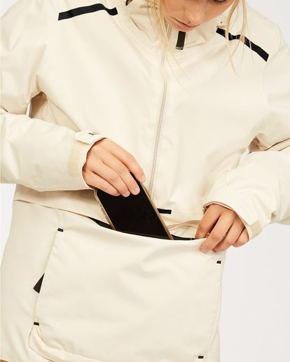 5 Adventure Division Collection Passage - Jacket for Women White U6JF21BIF0 Billabong