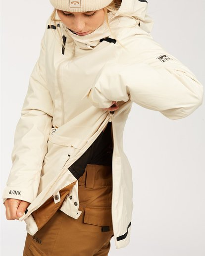 6 Adventure Division Collection Passage - Jacket for Women White U6JF21BIF0 Billabong