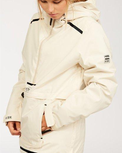 7 Adventure Division Collection Passage - Jacket for Women White U6JF21BIF0 Billabong