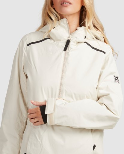 4 Adiv Anorak Jacket White U6JF21S Billabong