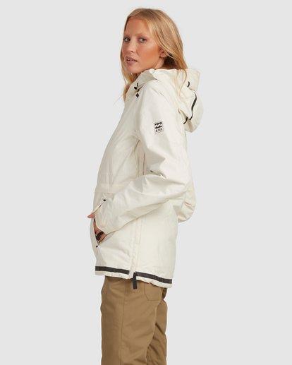 2 Adiv Anorak Jacket White U6JF21S Billabong