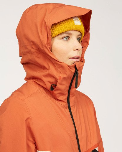 9 Adventure Division Collection Eclipse - Jacket for Women Orange U6JF22BIF0 Billabong