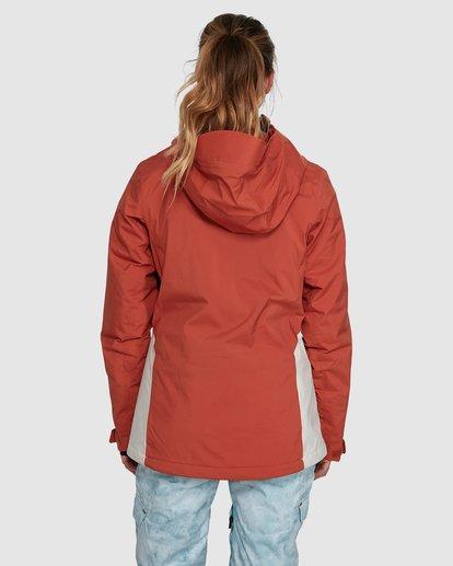 3 Eclipse Jacket Orange U6JF22S Billabong