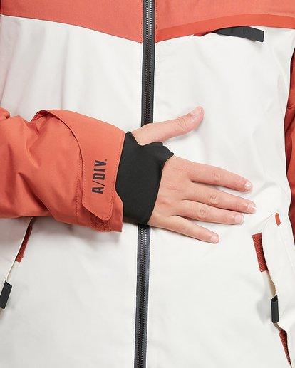 4 Eclipse Jacket Orange U6JF22S Billabong
