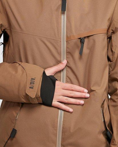 4 Eclipse Jacket Brown U6JF22S Billabong