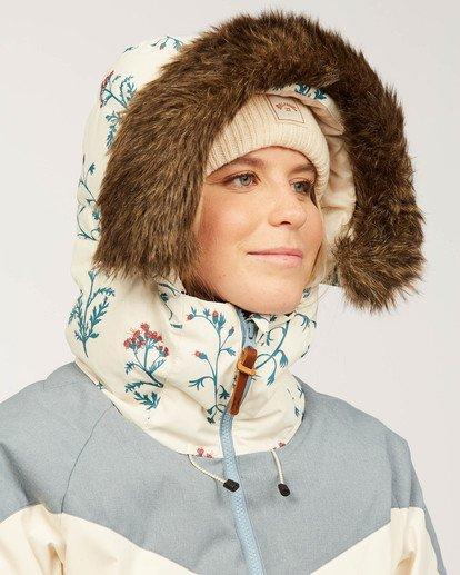 5 Daytime - Puffer Jacket for Women White U6JF23BIF0 Billabong