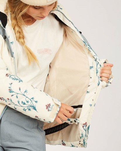 6 Daytime - Puffer Jacket for Women White U6JF23BIF0 Billabong