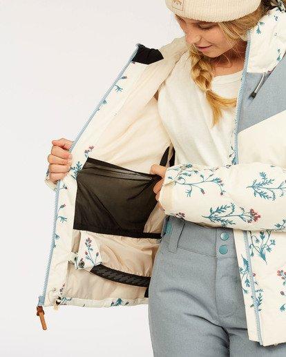 7 Daytime - Puffer Jacket for Women White U6JF23BIF0 Billabong