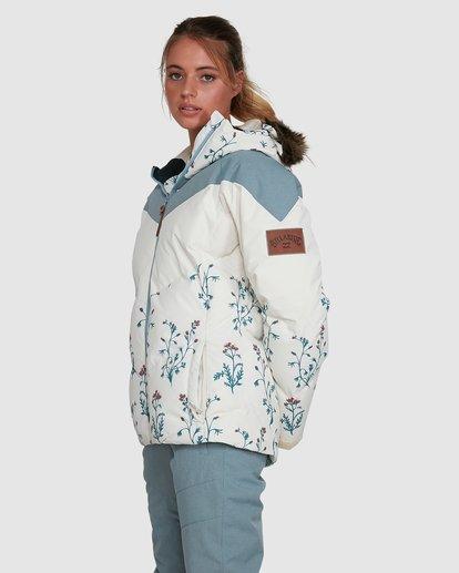 2 Daytime 2L 10K Puffer Jacket White U6JF23S Billabong