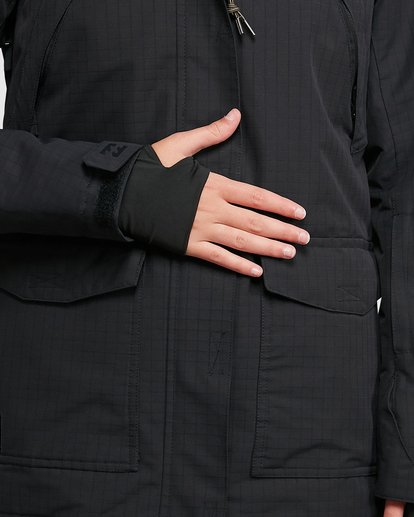 4 Go Outside Jacket Black U6JF24S Billabong