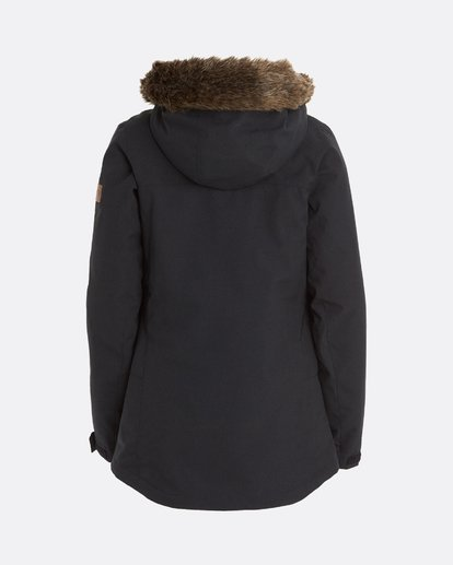 10 Into The Forest - Chaqueta para Mujer Negro U6JF25BIF0 Billabong