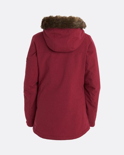 11 Into The Forest - Jacket for Women Red U6JF25BIF0 Billabong