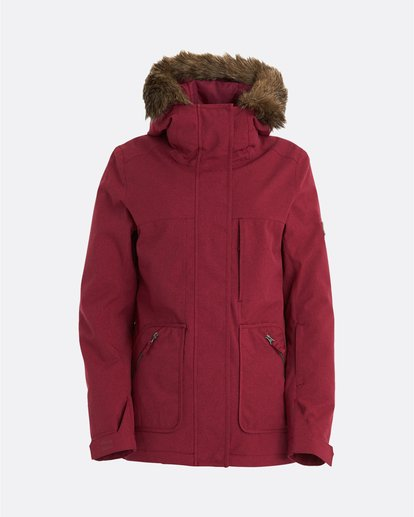 10 Into The Forest - Jacket for Women Red U6JF25BIF0 Billabong