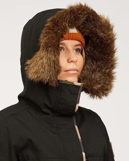 9 Into The Forest - Jacket for Women Black U6JF25BIF0 Billabong