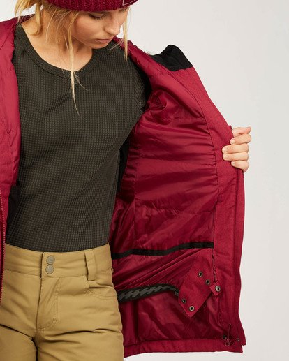 8 Into The Forest - Jacket for Women Red U6JF25BIF0 Billabong