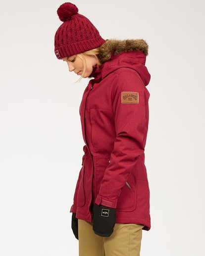1 Into The Forest - Jacket for Women Red U6JF25BIF0 Billabong