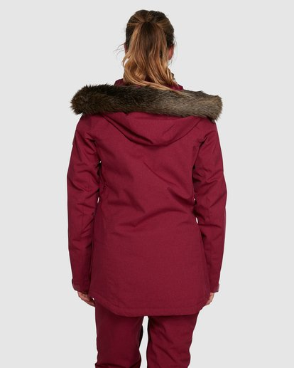3 Into The Forest Jacket Red U6JF25S Billabong