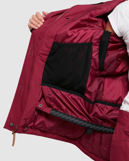 5 Into The Forest Jacket Red U6JF25S Billabong