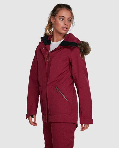 2 Into The Forest Jacket Red U6JF25S Billabong