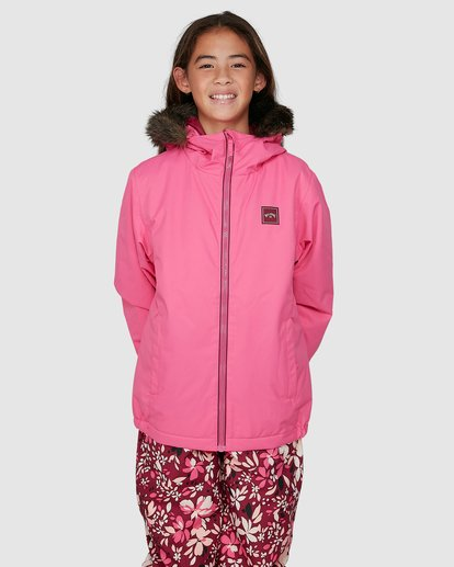 0 Girls Sula Jacket Pink U6JG20S Billabong