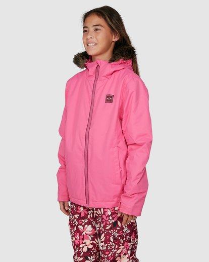 1 Girls Sula Jacket Pink U6JG20S Billabong