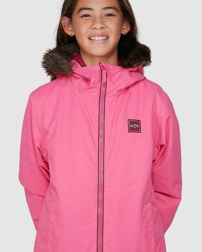 8 Girls Sula Jacket Pink U6JG20S Billabong