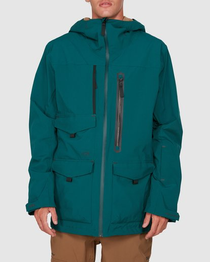 0 Prism SympaTex Jacket Green U6JM20S Billabong