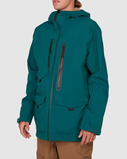 1 Prism SympaTex Jacket Green U6JM20S Billabong