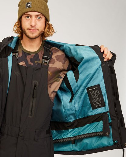 2 Adventure Division Collection Delta Stx - Wasserdichte Jacke für Männer Schwarz U6JM21BIF0 Billabong